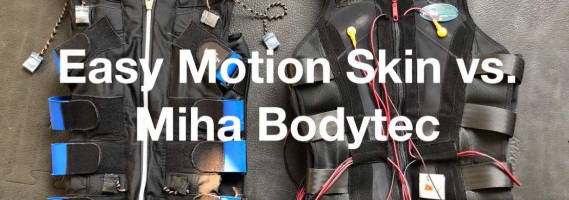 Vergleich zwischen Easy Motion Skin und Miha Bodytec – Teil 2