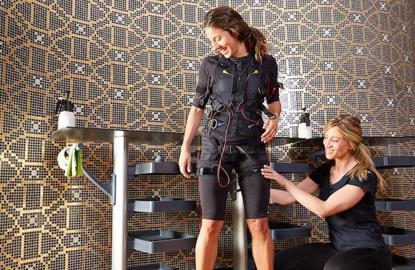 Muskelstimulation mit EMS-Training